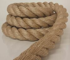 "UNMANILA ROPE   2"" DIAMETER (Priced Per Foot & Cut to length) 2"" manila sub"