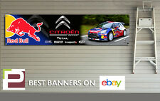 Citroen DS3 red bull rallye voiture bannière pour atelier, garage, pvc banner