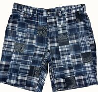 "Ralph Lauren Chino Shorts Patchwork Shorts Classic Fit Blue  32"" / 33"""
