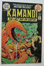 Kamandi, The Last Boy on Earth! #21 (DC 9/74) VF-  Jack Kirby/Nice!!