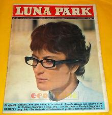 LUNA PARK 1963 n. 15 Anouk Aimée, Marcello Mastroianni