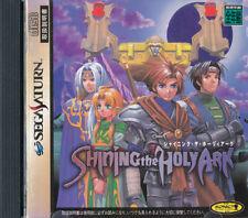 Shining the Holy Ark  Sega Saturn Japan Import   Good/Bad   US SELLER