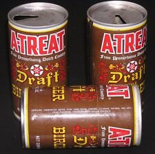 Beer Can A-Treat Draft Birch Beer Pennsylvania Dutch Country Three Cans