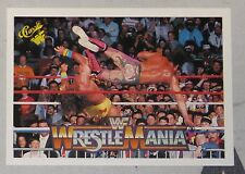 The Ultimate Warrior & Rick Rude 1990 Classic Wrestlemania V 5 WWF Card #111 WWE