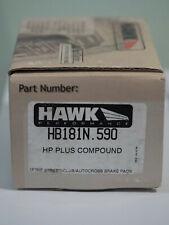 Hawk Performance Brake Pads HB181N.590 (G35 Brembo, Acura RSX, BMW 840/850)