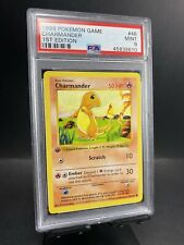 1999 Pokemon Base Set #46 Charmander 1st Edition PSA 9 Mint