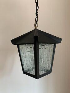 Vintage Style Black Outside Porch Light