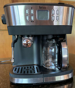 BRIM COMBO 19 BAR ESPRESSO & DRIP COFFEE MAKER EXCELLENT USED CONDITION
