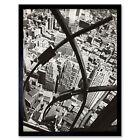 Berenice Abbott New York City Arabesque View Framed Wall Art Poster