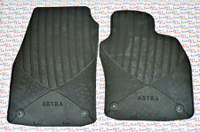 GENUINE Vauxhall ASTRA H - RUBBER  FLOOR MAT / FRONT PAIR  - NEW 93199706
