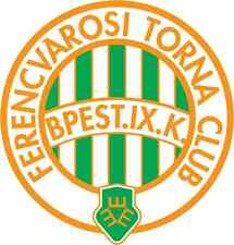 "Ferencvaros TC Hungary Soccer Football Car Bumper Sticker Decal 5"" x 5"""