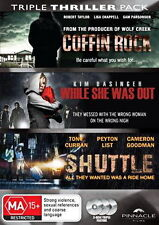 Coffin Rock - Shuttle - While She Was Out - 3 NEW DVD