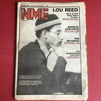 NME New Musical Express 21 April 1979 LKJ, Angelic Upstarts, Lou Reed...