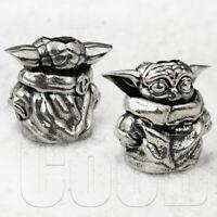EDC Paracord Beads Bead Charm Mandalorian Baby Yoda Star Wars Knife Lanyard CooB