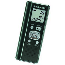 Majestic Vr37n Registratore Vocale Digitale da 4gb Espandibile con Micro SD