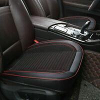 PU Leder Auto SUV Sitzauflage Sitzbezüge Sitzkissen Sitzmatte Schwarz Universal