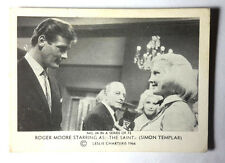"1966 Roger Moore as ""The Saint"" Somportex Trading Card #34 from Denmark/UK"