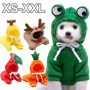 Coat Winter Warm Clothes For Small Dogs Chihuahua Puppy Clothing Hoodie Jacket