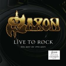 SAXON - LIVE TO ROCK BEST OF 1991-2009  VINYL LP NEW+