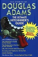 Douglas Adams - The Ultimate Hitchhiker's Guide -  Hardcover w/DJ 1996