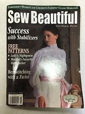Sew Beautiful Sewing with Martha Pullen - Issue No. 64, 1999