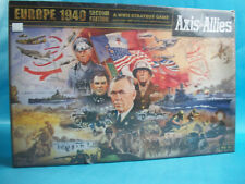 Axis & Allies Europe 1940 Second 2nd Edition WWII Strategy Game Damaged Box