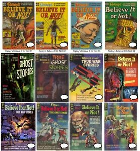 Ripley's BELIEVE IT OR NOT #1-94 GOLD KEY comics Complete Run Digital 1965