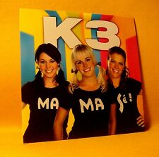 NEW Cardsleeve Single CD K3 MaMaSé! 2TR 2009 Vlaamse Pop Kids RARE !