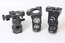 Bogen/Manfrotto Tripod Heads Set Of 3 As Is For Parts 2-3047 1-3063