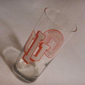 "Indianensis Universitatis Sigillum ""Indiana Hoosiers"" Collectible Glass  MDCCCXX"