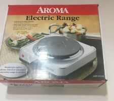 Aroma Electric Range AHP-303 New Boxed Never Used Dorm Office Tiny House APT