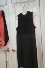 BCBG Maxazria Women Dress SIZE 12 Black Sleeveless  Cocktail, Work,Casual