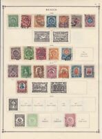 mexico early stamps on page  ref r12914