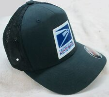 c26a4e380 USPS United States Postal Service Navy Blue Flexfit Mesh Cap/Hat by Yupoong