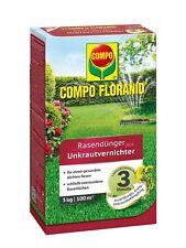 Compo Floranid Engrais de Gazon Plus Désherbant, 3 KG
