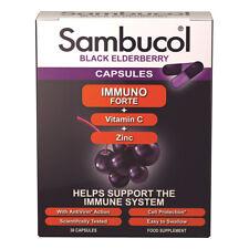 Sambucol Elderberry Immuno Forte 30 Capsules
