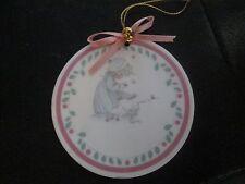 Precious Moments*Porcelain Ornament Celebrate The Joy Of Christmas*1990*Nob*
