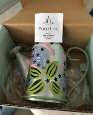 Partylite P7498 Lilac Watering Can Candle Holder And Snuffer
