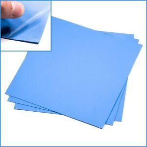 1pc Blue 200mm x 200x 0.5mm Silicone Thermal Pad Sheet CPU Memory Board Heatsink