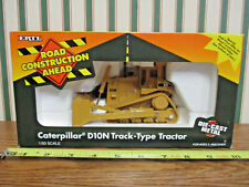 Caterpillar D10N Dozer Road Construction Ahead Series By Ertl 1/50th Scale