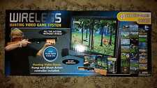 Light Gun Wireless Hunting Video Game System 20 Games Built In