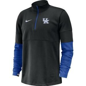 Nike Therma On Field NCAA kentucky wildcats 1/2 Zip Pullover Mens 3XL CQ5697-010
