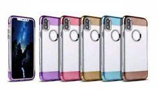 Fundas Para iPhone X color principal marrón para teléfonos móviles y PDAs