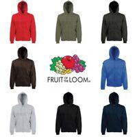 Fruit of the Loom Premium 70/30 Hoodie Hooded Sweatshirt Jacket