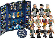 Dr Who Character Building The Eleven 11 Doctors Micro Figures Construction Set