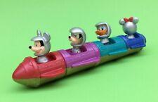 Vintage McDonalds Disney Disneyland Tomorrowland Connecting Rocket Toys Mickey