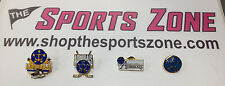 Hampton Roads Admirals ECHL Hockey NEW 4 Vintage Lapel Pin set RARE Norfolk AHL