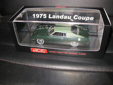 1/43 ACE 1975 FORD LANDAU COUPE IVY GREEN LIMITED EDITION OF JUST 75  AWESOME