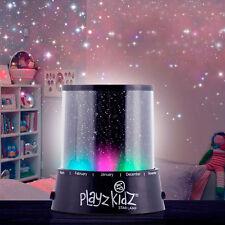 Veilleuse Projecteur Ciel Etoiles Mur + Plafond A LED Multicolores Ou Jaune Neuf