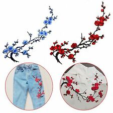Blossom Flower Applique Clothing Embroidery Sticker Patch Iron With Sew Cloth